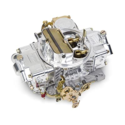 Holley 0-3310SA Polished Aluminum Street/Strip Carburetor: Automotive