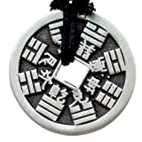 Amazon Price History for:Replica Chinese ancient i-ching coin Good fortune lucky charm pewter pendant
