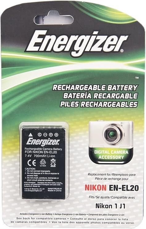 Batería para Nikon EN-EL20-7.4v//1020mAh