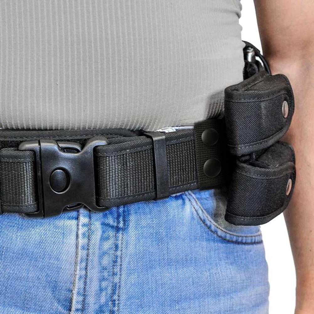 BKpearl 12 Pcs Belt Keeper Double Snaps Belt Keeper for Outdoor Sports Belt Fixing