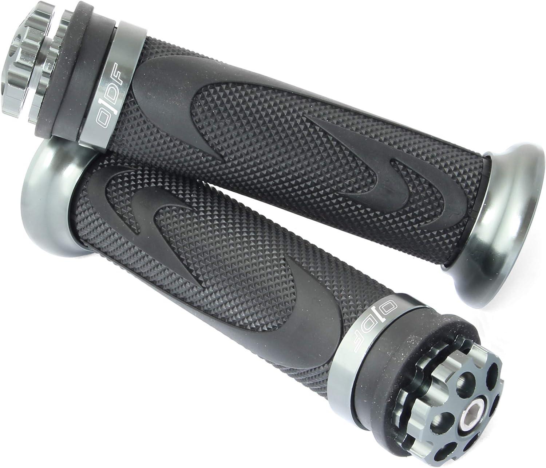 22//24-25 mm Manopole universali per moto//scooter laser in gomma