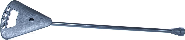 activera Asiento Extra Corto Negro – El bastón y bastón con Asiento Plegable