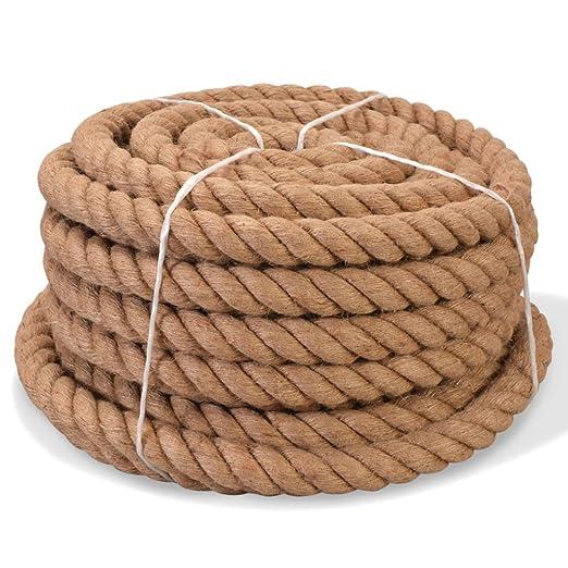 Yute cuerda 100/% Natural 15/m///ø5/mm 10/mm 15/mm 20/mm 25/mm 30/mm 35/mm 40/mm 45/mm 50/mm