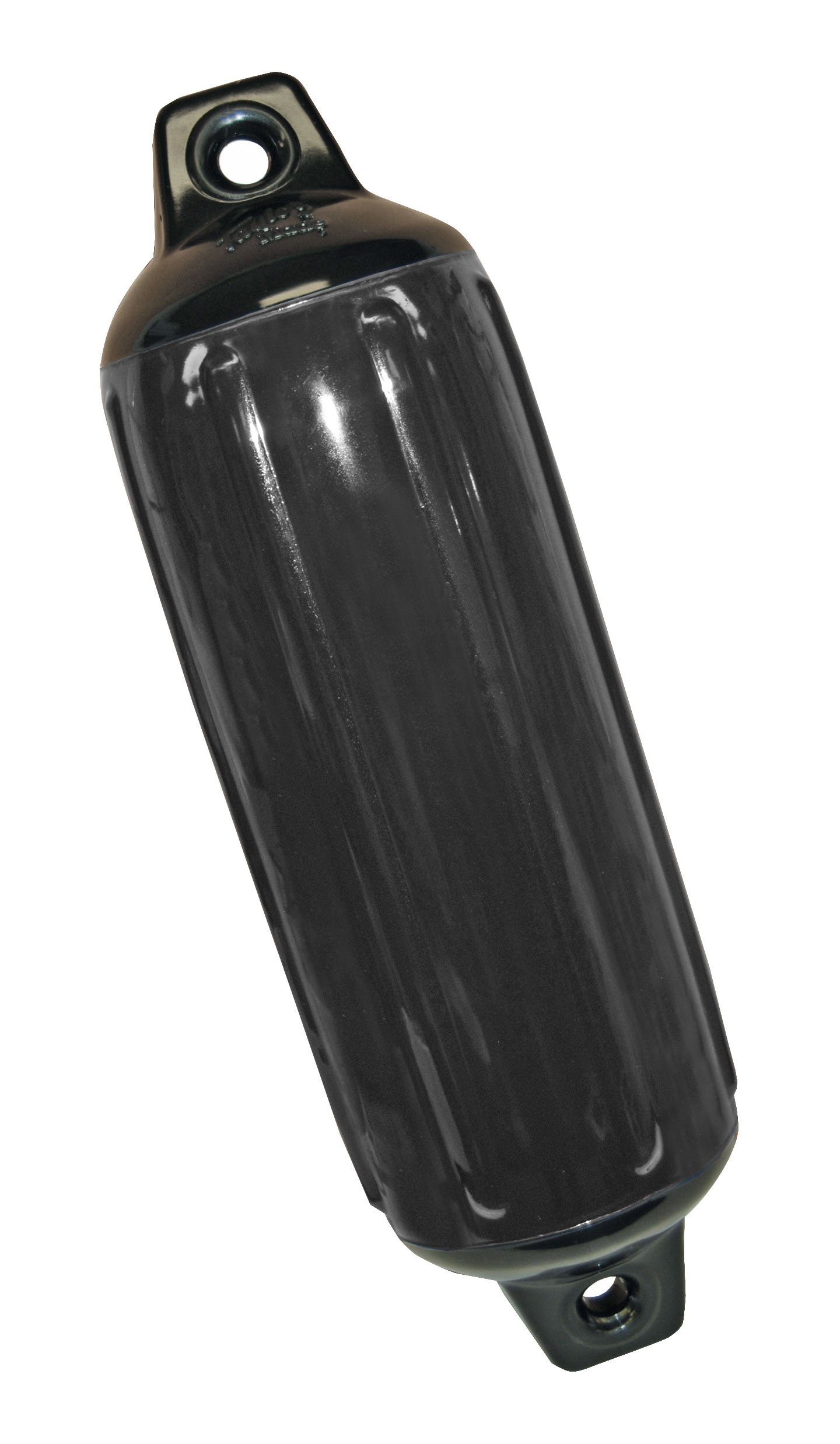 Taylor Made Products 952622  Super Gard Inflatable Vinyl Boat Fender, 6.5 x 22 inch, Black