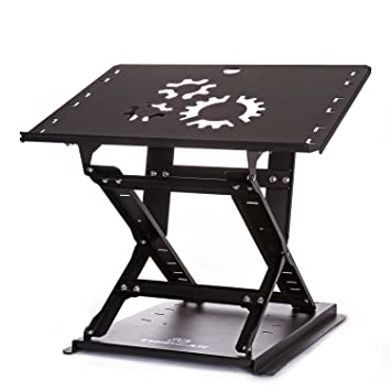 Superior TriGear Premier 81 Adjustable Height U0026 Angle Options Laptop Desk Stand W/  Over 100LBS Capacity