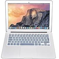 Protector Skin de Teclado para Macbook en Español compatible con: Macbook Retina 12'' Model: A1534/New Pro 13'' Model: A1708 TRANSPARENTE