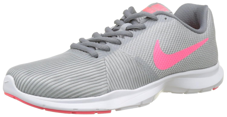 ac955e2c13fb8 Nike Women s WMNS Flex Bijoux Wolf Grey Racer Pink Multisport Training Shoes-4  UK India (37.5 EU)(6.5 US) (881863-5)  Amazon.in  Shoes   Handbags