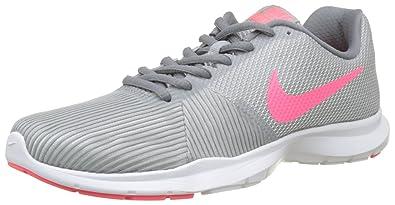 e1c0dd07d671 Nike Women s WMNS Flex Bijoux Wolf Grey Racer Pink Multisport Training Shoes-4  UK