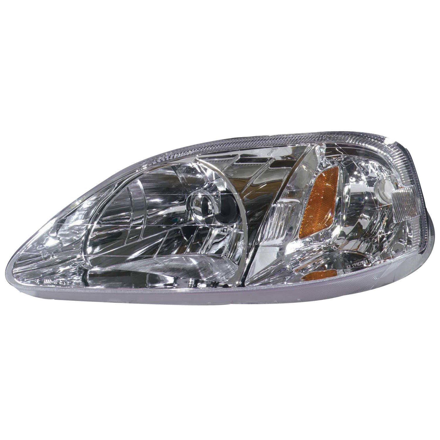 TYC 20-5661-01-9 Honda Civic CAPA Certified Replacement Right Head Lamp