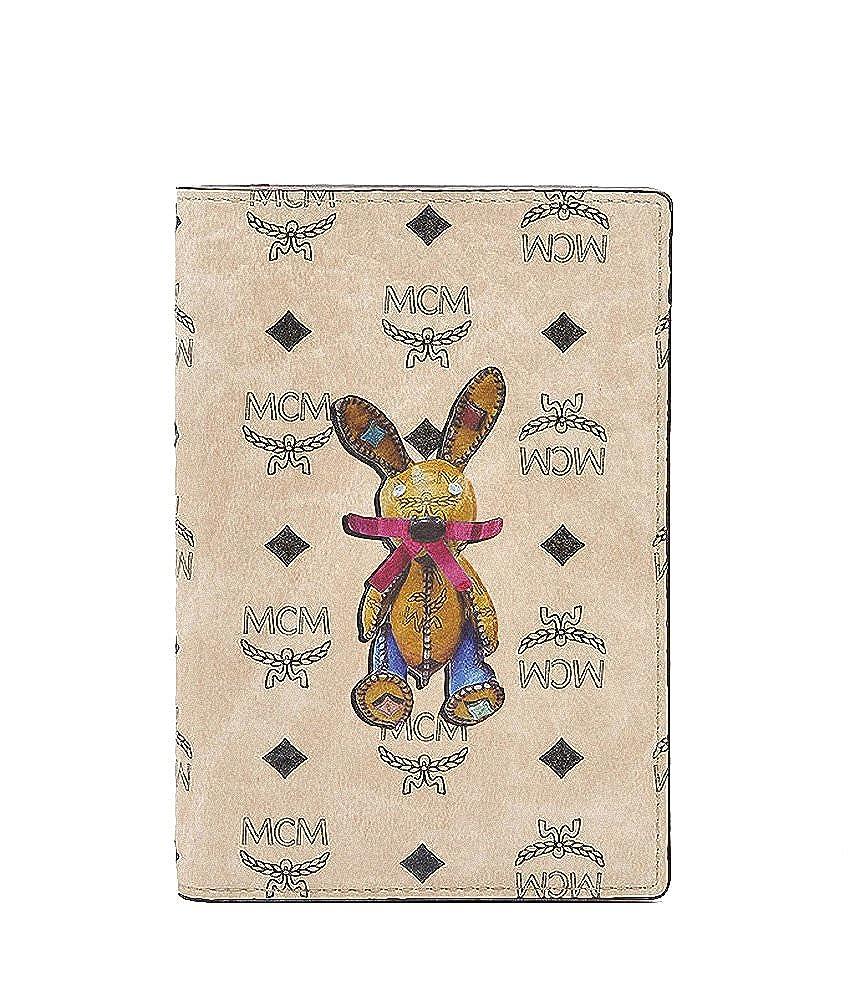 【エムシーエム】 MCM ラビット革パスポート財布旅券パスポートケースカバー旅行用品トラベルチケット Passport case cover holder [並行輸入品] B0733BDD8X
