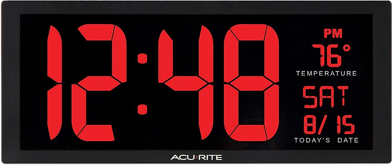 Oversized LED Clock