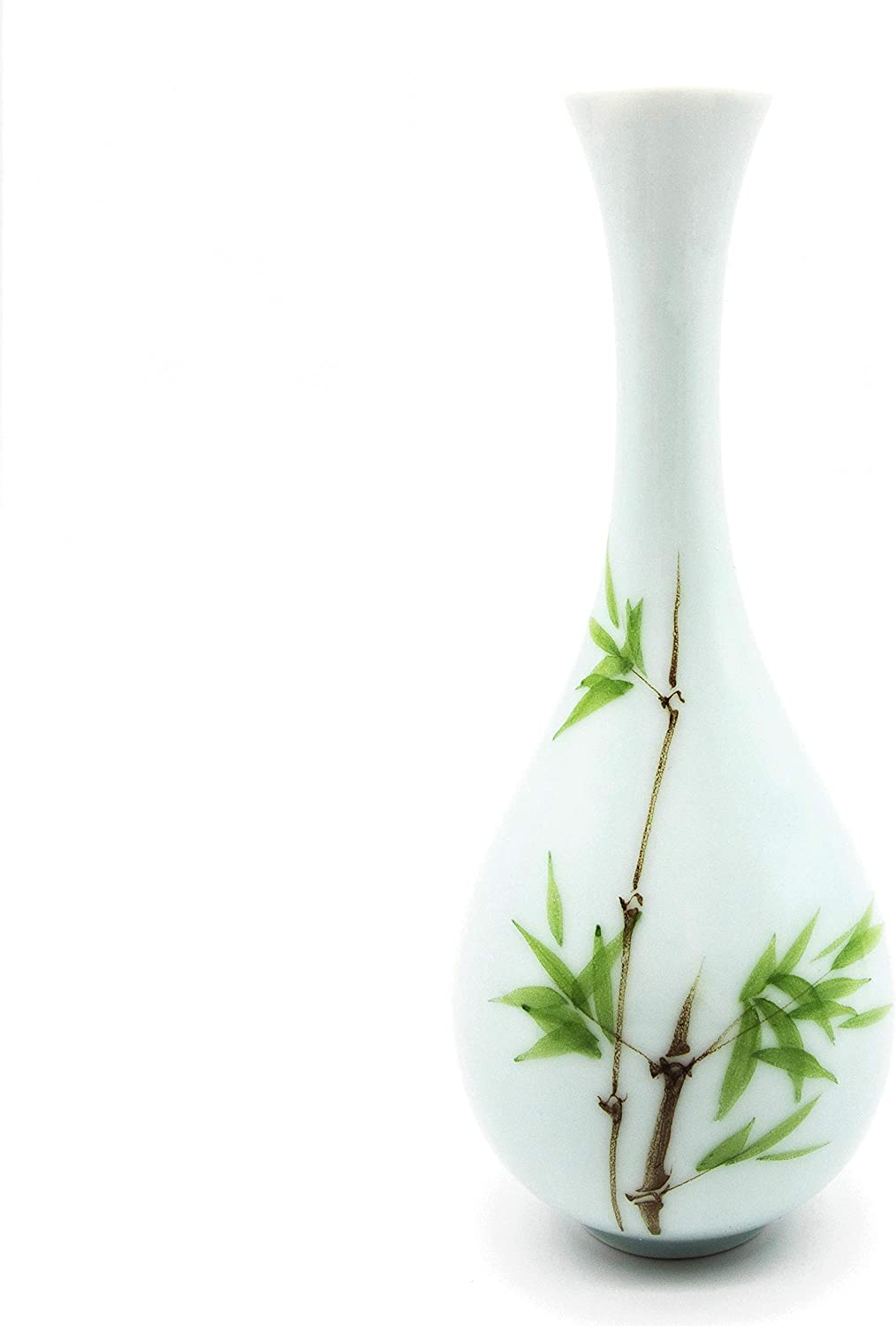 GLFY Flower Ceramic Vase Decorative Centerpiece for Home or Wedding,Home Decor Vase Table Centerpieces Vase (Bamboo)