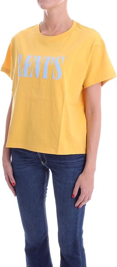 Levis Graphic Varsity tee Camiseta para Mujer: Amazon.es: Ropa y accesorios