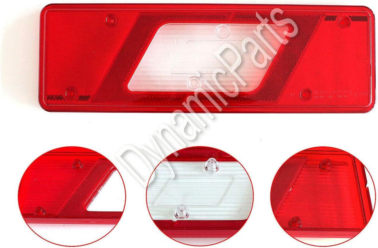 2014 Onwards Transit Mk8 Tipper Pick-up Rear Right Tail Light Lamp Lens 1831256