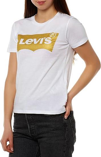 Levis ® The Perfect W Camiseta white: Amazon.es: Libros