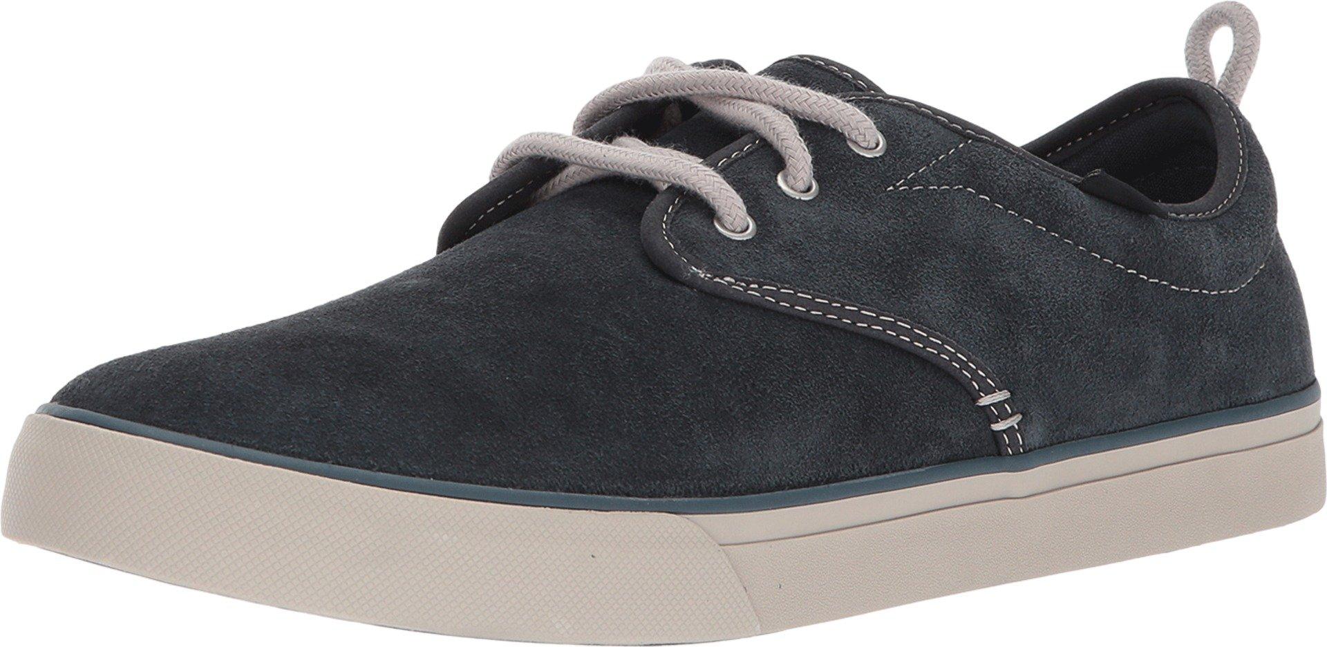 Sanuk Men's Guide Plus Suede Shoe Dark Charcoal 9.5