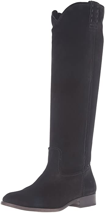 959e365ed23 FRYE Women's Cara Tall Suede Slouch Boot