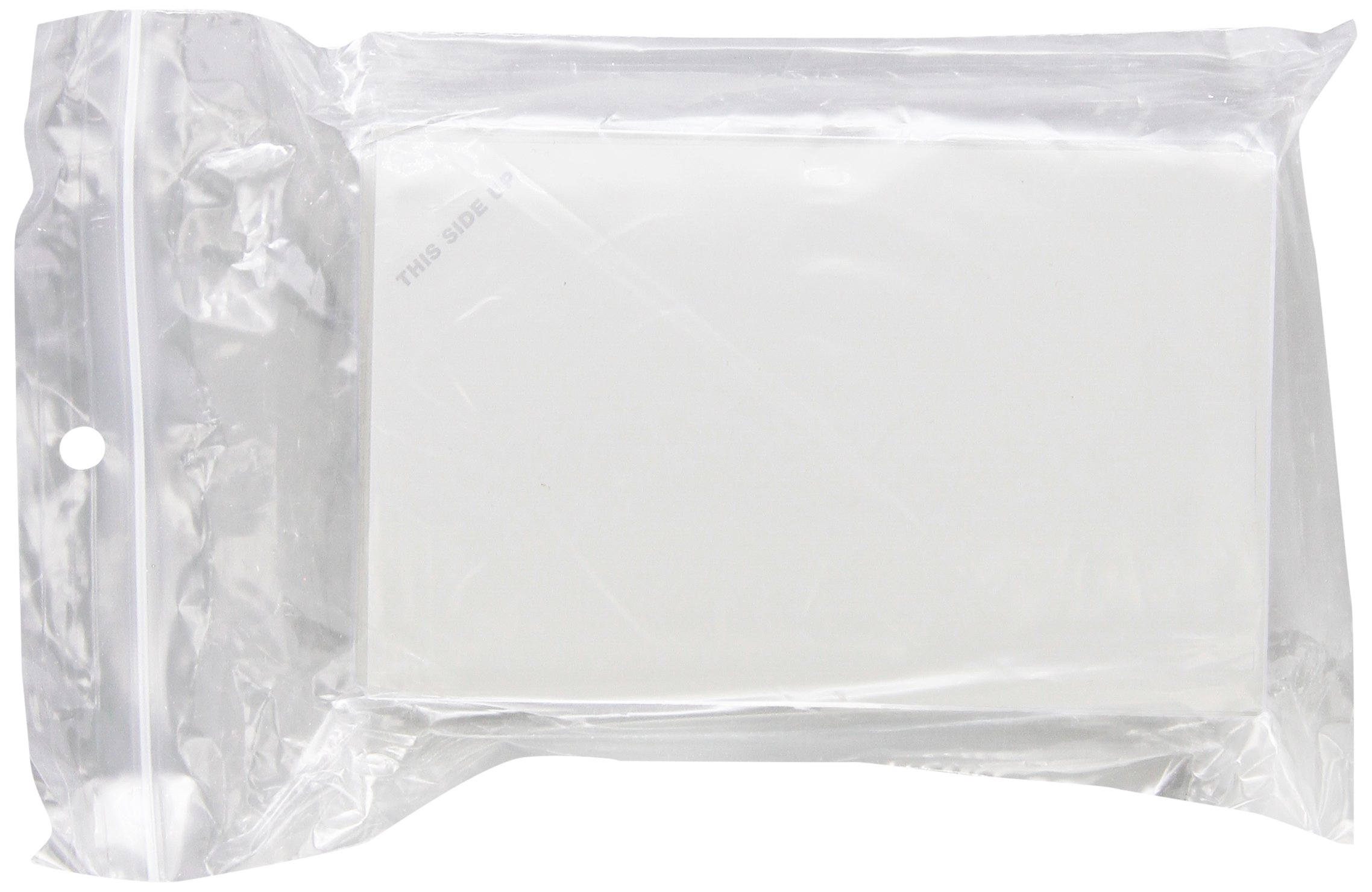 Axygen PlateMax MF-300 Litto/Ethylene/Vinyl Heat Sealing Film with Paper Backing for General Storage and PCR Applications, 85µm Thick, 127.2mm Length, 79.5mm Width, Non-Sterile (Case of 500)