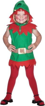 Elf - Disfraz de elfo infantil, talla 2-3 años (26019): Amazon.es ...