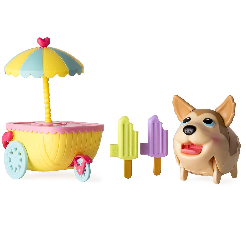 Chubby Puppies - Husky Ice Cream Cart