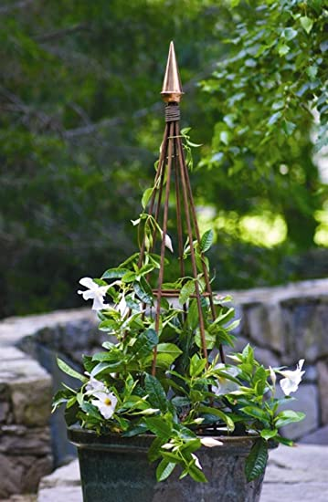 Amazoncom 465 Luxury Polished Copper Finial Garden Obelisk
