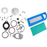 Djs tractor parts basic zenith carb carburetor repair kit allis hifrom new replacement 697014 air filter 697015 pre filter with 796184 698787 carburetor overhaul kit for ccuart Image collections
