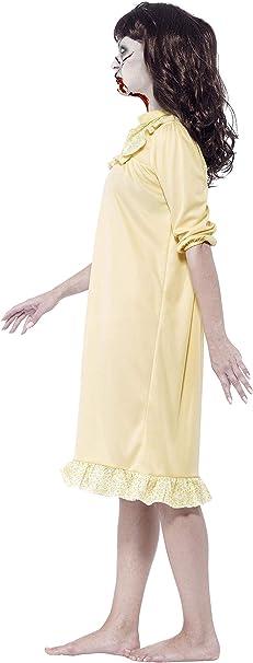 Smiffys - Disfraz de Zombi Sinister sueños, Color Amarillo ...