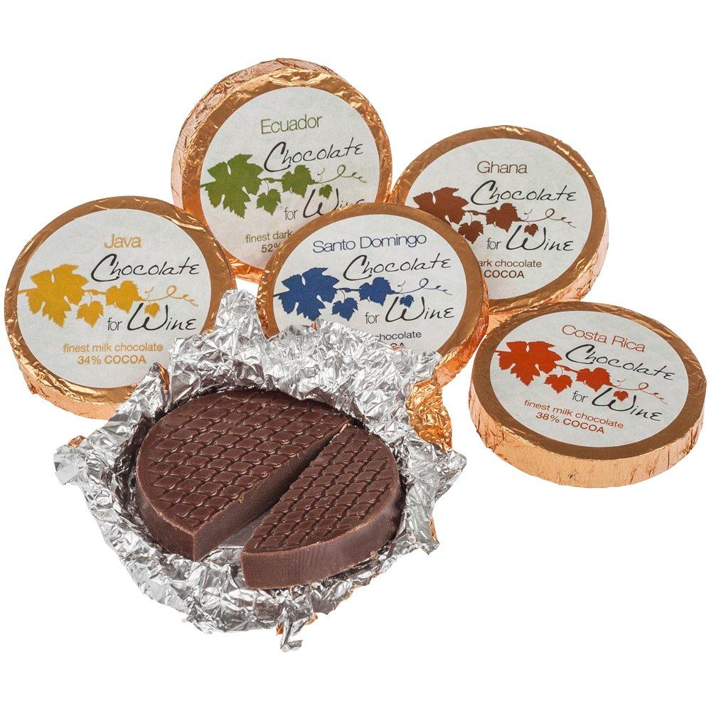 DreiMeister Chocolate para vino Caja transparente 60 Thalers 480 g: Amazon.es: Alimentación y bebidas