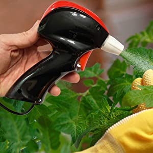 Petra Battery Sprayer Plant Mister - Easy-to-Use Automatic Sprayer for Spray Bottle - for Indoor/Outdoor Weeding, Household Cleaning, Garden, Pest Control - AA Batteries Included