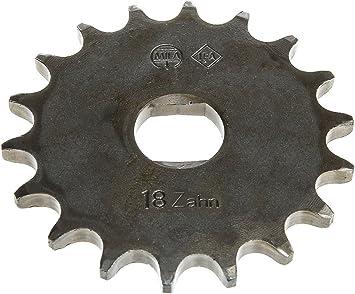 Fez Ritzel Kleines Kettenrad 18 Zahn Für Simson S51 S70 S53 S83 Kr51 2 Schwalbe Sr50 Sr80 Auto