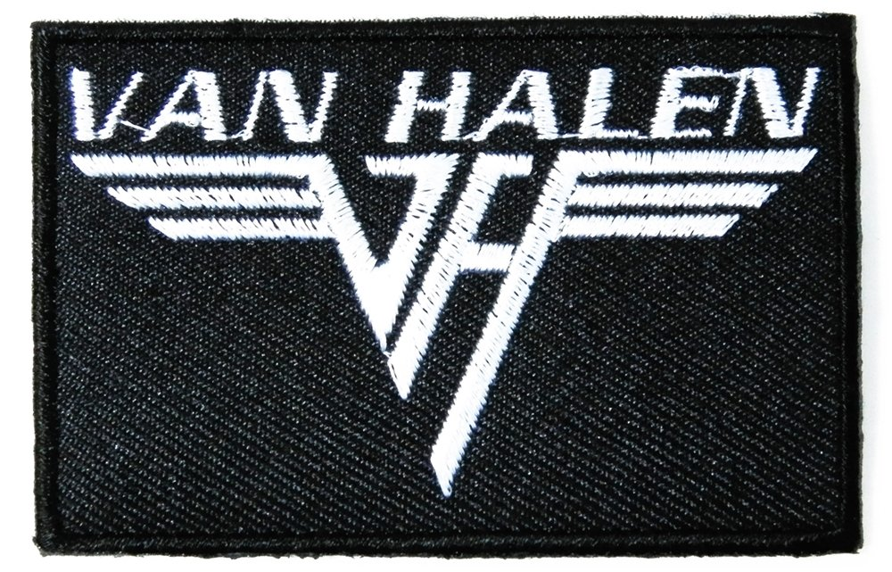 Amazon Van Halen Fuzzy Heavy Metal Rock Punk Music Band Logo