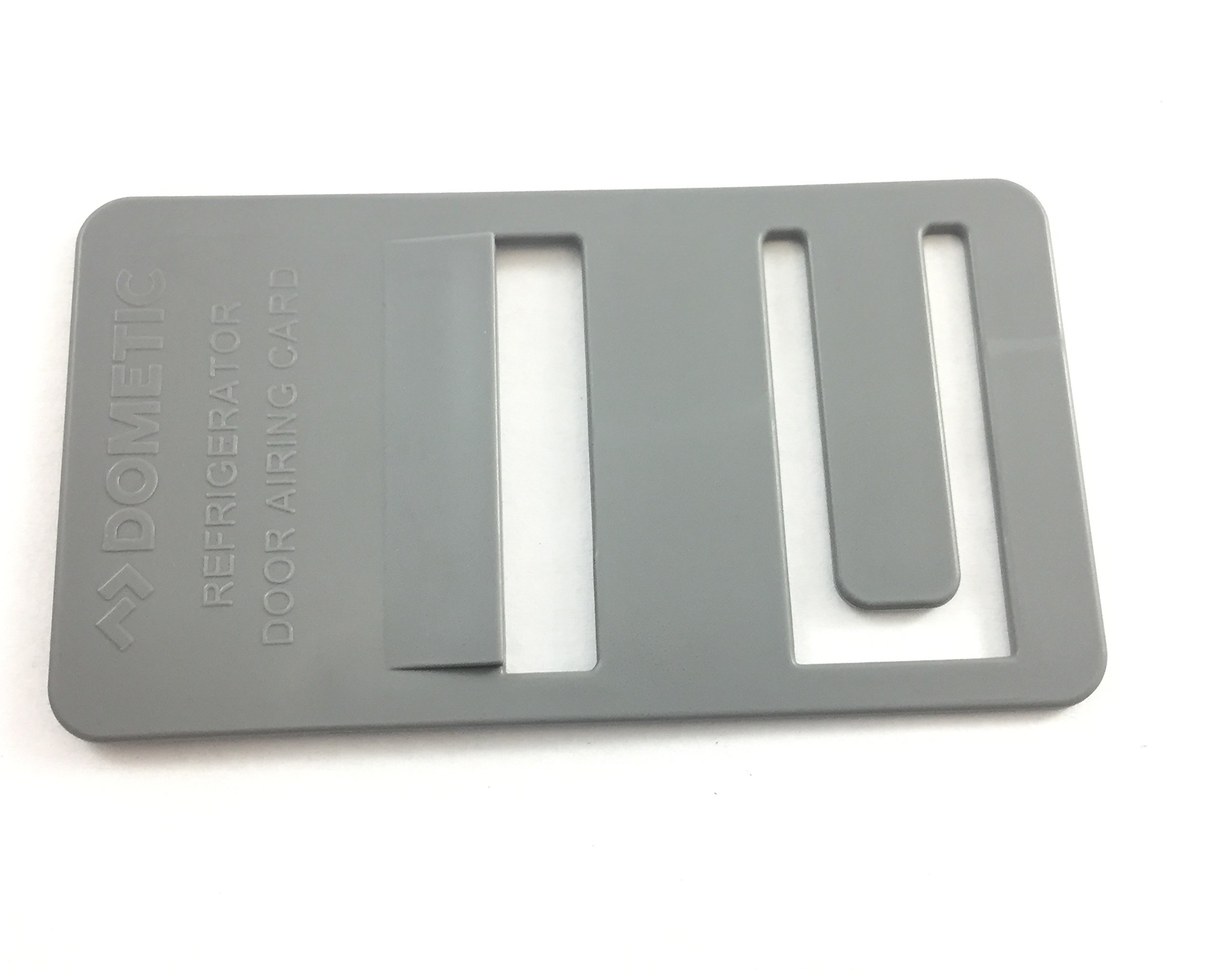 Dometic 3850781026 Grey Refrigerator Airing Device Card