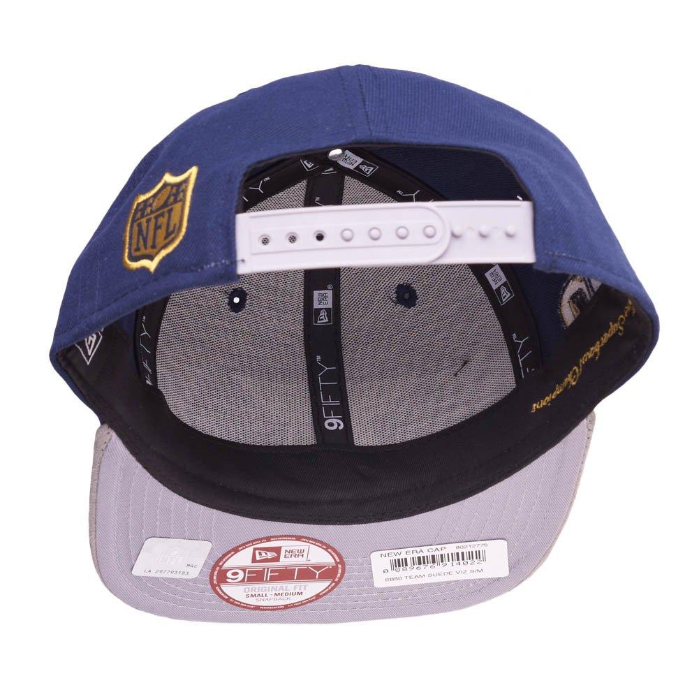 6e5fbc59 New Era Dallas Cowboys SB50 Suede Vize On The Fifty Snapback Cap ...
