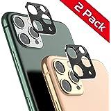 iPhone 11 Pro / 11 Pro Max カメラ保護カバー カメラレンズ保護 velagol軽薄 アイフォンPro / 11 Pro Max レンズ保護リング アルミニウム製 耐衝撃 高透過率 クリア画面 スクラッチ防止【2枚入り、5.8 / 6.5インチ用】