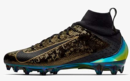 black and gold nike vapor cleats