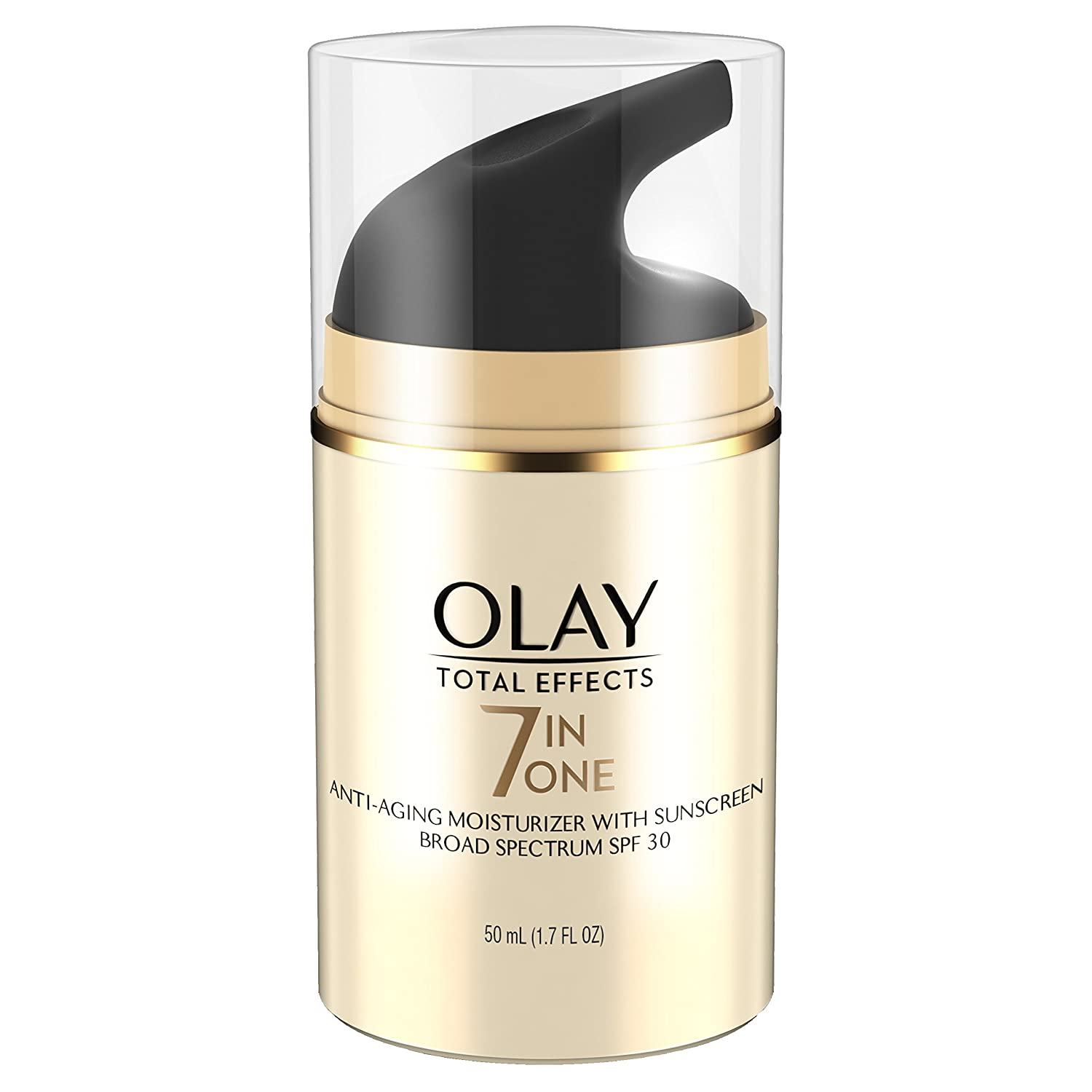 Total Effects 7 in 1 Anti-Aging UV Moisturizer SPF 15 by Olay for Women - 1.7 oz Moisturizer NA