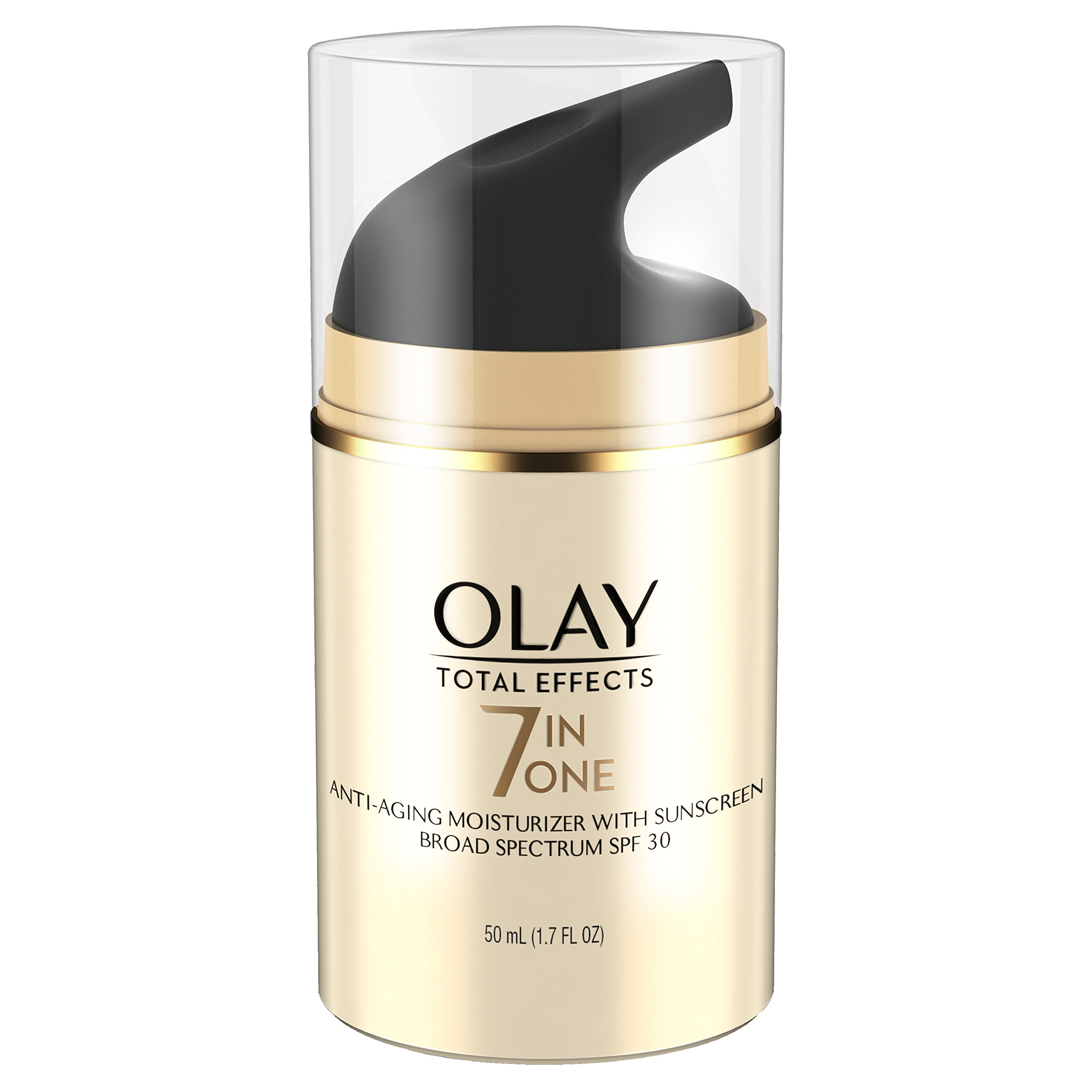 Olay Total Effects 7-in-1 Anti-Aging Daily Face Moisturizer With SPF 30, 1.7 fl oz