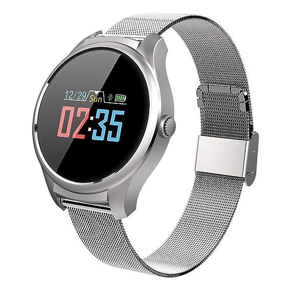 Amazon.com: smartwatch B35 IP67 Waterproof Blood Pressure ...