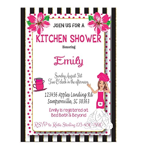 Amazon bridal shower invitation for kitchen theme shower bridal shower invitation for kitchen theme shower wedding shower invitation couples shower invitation filmwisefo