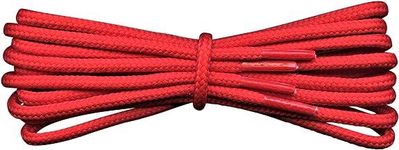 Image of Fabmania Cordones Fuertes - 4 mm redondos - ideales para botas de trabajo y botas de montaña Dr Martens - 17 colores - Longitudes de 90 a 240 cm - Hecho en Inglaterra