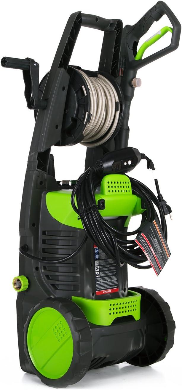 Greenworks 1500 PSI 13 Amp 1.2 GPM Pressure Washer GPW1501 : Garden & Outdoor