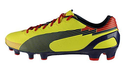 Puma, Scarpe da Calcio Donna Amarilla 10 UK: Amazon.it ...