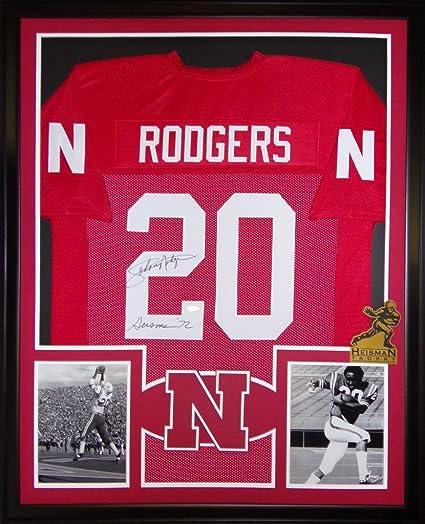 reputable site b8c84 83d52 Johnny Rodgers Nebraska Cornhuskers Autograph Signed Custom ...