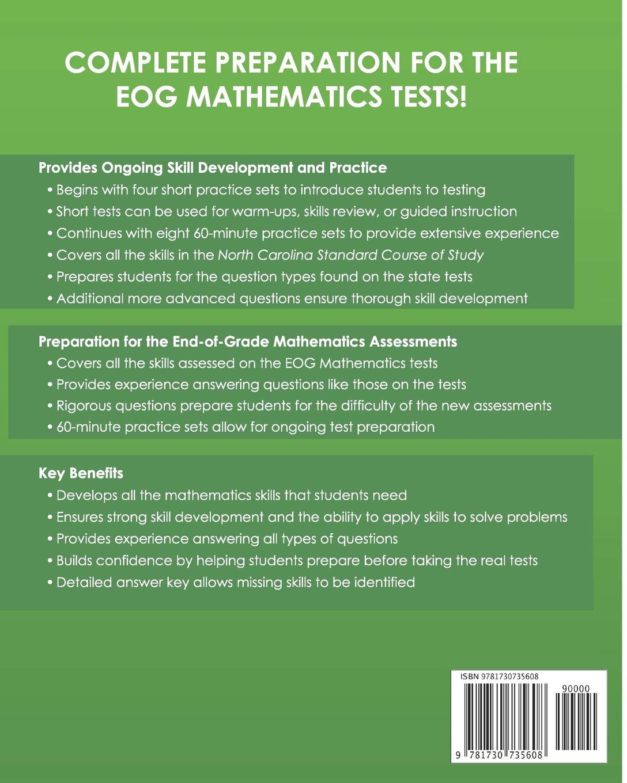 NORTH CAROLINA TEST PREP End-of-Grade Practice Tests EOG