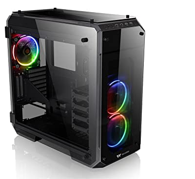 Thermaltake View 71 RGB 4-Sided Tempered Glass Vertical Computer Case