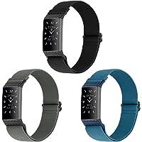 WNIPH Nylon riemen Compatibel voor Fitbit Charge 4/Fitbit Charge 4 SE/Fitbit Charge 3/Fitbit Charge 3 SE, Verstelbare…