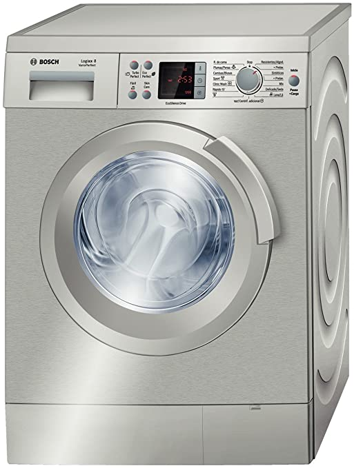 Bosch WAS2442XEE Independiente Carga frontal 8kg 1200RPM A+ Acero ...