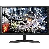LG 24GL600F-B 59,8 cm (23,6 inch) UltraGear Full HD Gaming Monitor (144 Hz, 1ms GTG, AMD Radeon FreeSync, DAS Mode…