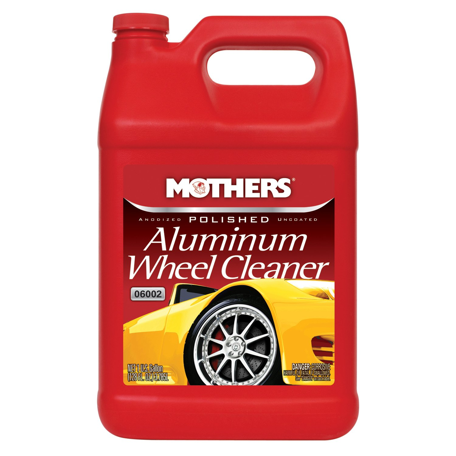Mothers 06002 Polished Aluminum Wheel Cleaner - 1 Gallon