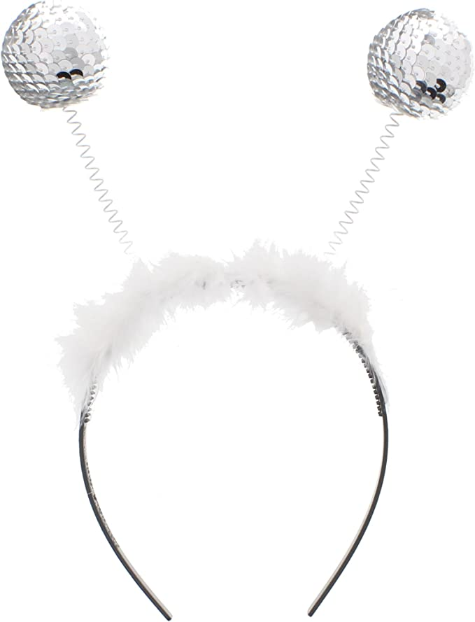 Christmas Fancy Disco Head Boppers Headband Pack of 12